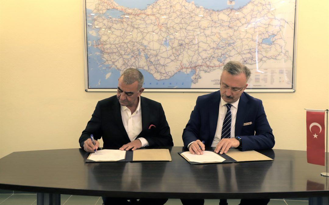 Üniversitemiz ve ERPER Madencilik ve Müteahhitlik SAN. ve TİC. LTD. A.Ş Arasında İşbirliği Protokolü İmzalandı.11 EKİM 2019