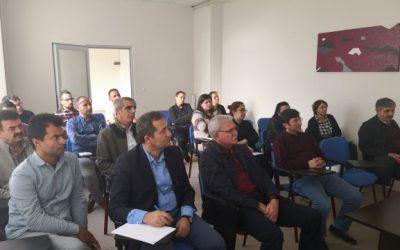 TÜBİTAK ARDEB Projesi Bilgilendirme Semineri Birincisi  Düzenlendi.