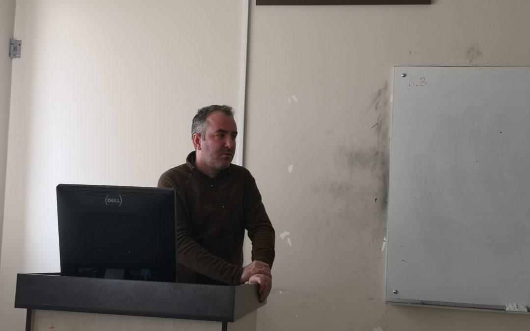 TÜBİTAK ARDEB Proje Seminerinin üçüncüsü Yapıldı.